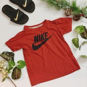 Nike NWOT Red Graphic Tee Little Boy Size 6